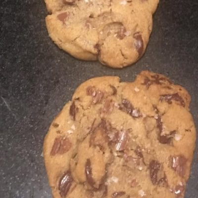 Chocolate Chip Sea Salt Cookies