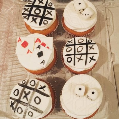 Game Night Cupcakes 4