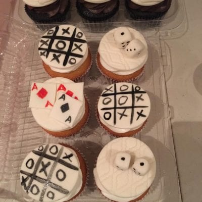 Game Night Cupcakes