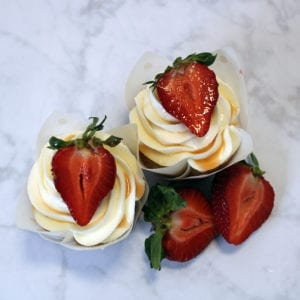 White Chocolate Strawberry Hibiscus