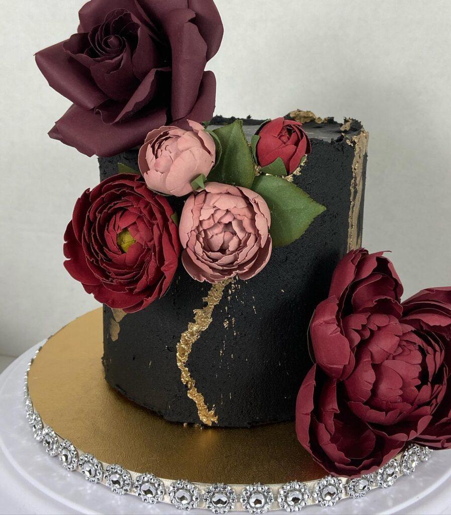 Chic Black Cake